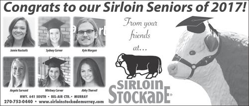 Sirloin Stockade Graduates