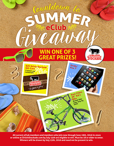 Countdown to Summer eClub Giveaway