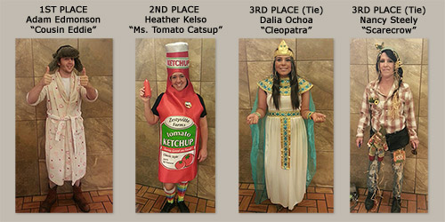 2014 Costume Contest - Dayshift Winners