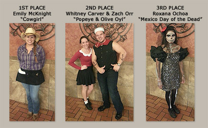 2014 Costume Contest - Nightshift Winners