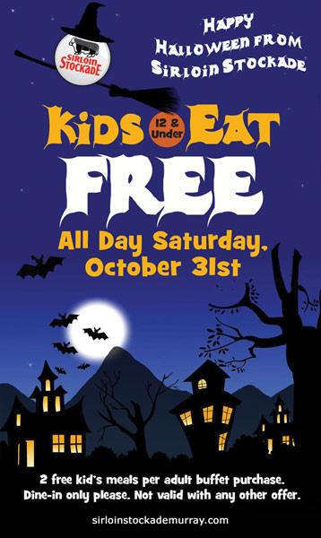 Free Kids Meal on Halloween