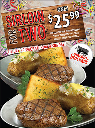 Sirloin for Two